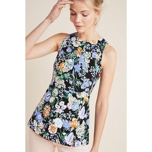 [Anthropologie] NWT Floral Maeve Brenner Top